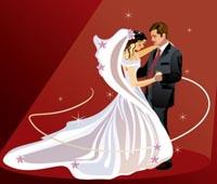 Вышивка жених и невеста схемы